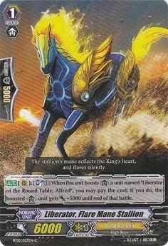 Liberator, Flare Mane Stallion/Gold Paladin