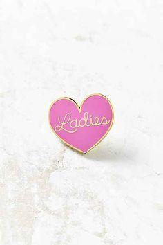 Big Bud Press Ladies Heart Pin