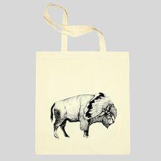 white bison tote sandra dieckmann