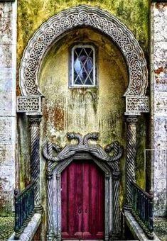 Celtic/Viking Door, Portugal by echkbet