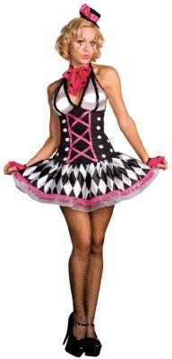 Sexy Clowns Halloween Costumes for 2013