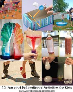 15 Fun and Educational Activities for Kids wanna do the lollipop geometric shapes and the dry ice bubbles! Educational Activities For Kids, Preschool Science, Science For Kids, Fun Learning, Learning Activities, Science Fun, Educational Websites, Toddler Activities, Teaching Ideas