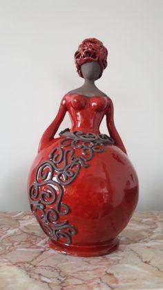 PANENKA Paper Mache Sculpture, Pottery Sculpture, Sculpture Art, Ceramic Birds, Ceramic Pottery, Ceramic Art, African Interior Design, Paper Clay Art, Cement Art