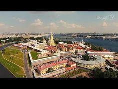 Санкт-Петербург с высоты птичьего полёта 2014 (bugoff.TV) - YouTube