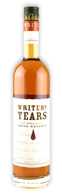 Liquid Irish: Writers Tears~ You must admit, this is pretty funny :) I may need to get a bottle just to keep!