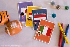 Around the World Cards