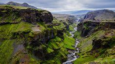 Vulkanlandschaft in Island