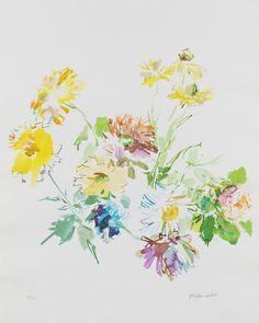 Oskar Kokoschka- Herbstblumen
