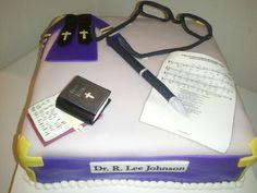 Pastoral Anniversary Cake