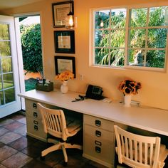 1000 Ideas About Garage Office On Pinterest Painted