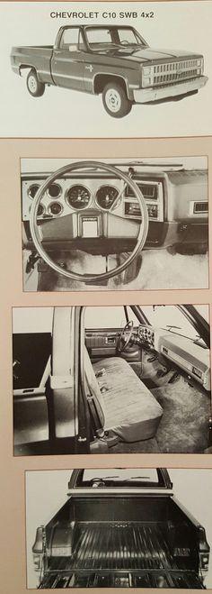 1983 Chevrolet C10 4x2 Pickup Truck