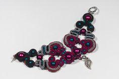 Soutache bracelet by Tomasz Jurkowski on 500px