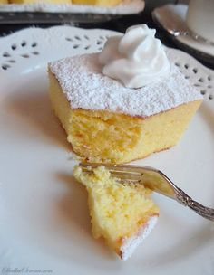 Polish Recipes, Polish Food, Vanilla Cake, Eat Cake, Main Dishes, Recipies, Cheesecake, Gluten, Pudding
