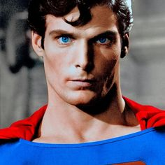 Christopher Reeve as Superman - Celebrities Superman Movies, Superman Family, Dc Movies, Superman Poster, Superman Artwork, Lois E Clark, Clark Kent, Smallville, Christopher Reeve Superman