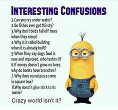 humor inteligente For all Minions fans this is your lucky day, we have collected some latest fresh insanely hilarious 100 Collection of Minions memes and Funny picturess Minion Humour, Funny Minion Memes, Funny School Jokes, Crazy Funny Memes, Minions Quotes, Funny Facts, Funny Jokes, Minions Fans, Funny Puns