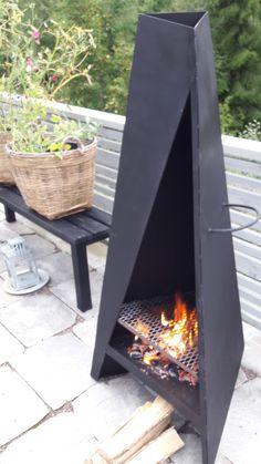 Tipi för terrassen. Carle Industri Åmål.
