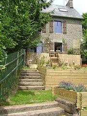 die+Einlegung+von+Braize+++Ferienhaus in Avranches Deck, Outdoor Decor, Home Decor, Villas, Cottage House, Vacation, Decoration Home, Room Decor, Front Porches