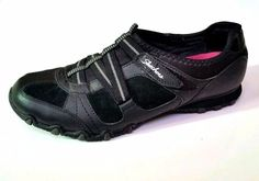 EUC SKETCHERS Womens Athletic Tennis Shoes Black Velcro 9 Sneakers Casual 22367 #Sketchers #Tennis