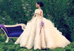 #barbie #dolls #bridal #gown / Jesus Medina/ 1..2