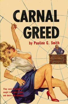 CARNAL GREED cover art by peterpulp.deviantart.com on @deviantART