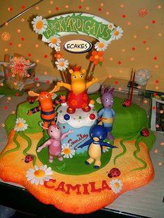 1000 Images About Backyardigans Theme On Pinterest Birthday Cakes
