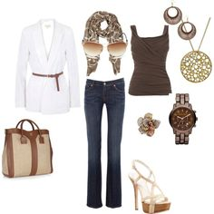 Casual Chic - Browns