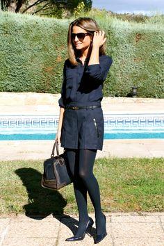 Fashion and Style Blog / Blog de Moda . Post: Only Blue / Solo Azul See more/ Más fotos en : http://www.ohmylooks.com/?p=4261 by Silvia García Blanco