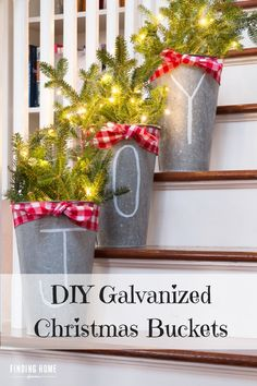 Galvanized Christmas