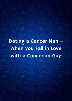 How to Date a Cancer 13 Steps (with Pictures) - wikiHow