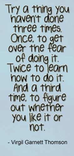 @Lesley Cravey ... this made me think of you!!! especially with how you challenge yourself to get out of your comfort zone! :o)