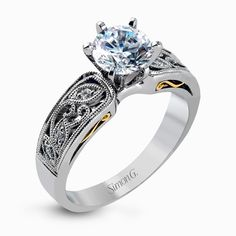 Engagement ring from the Duchess collection by @simongjewelry