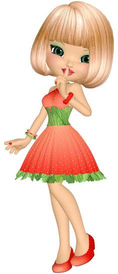 "Photo from album ""Куколки on Yandex. Illustration Mignonne, Cute Illustration, Cute Clipart, Cute Dolls, Digital Stamps, Big Eyes, Betty Boop, Belle Photo, Beautiful Dolls"