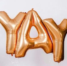 Yay mylar balloon