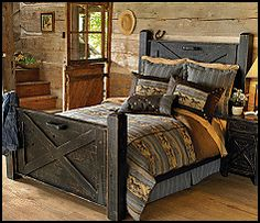 Google Image Result for http://kidsthemebedrooms.com/equestrian/Black_Distressed_Barn_Door_Bed-unique_furniture_rustic_style_horse_theme_bedroom_design_ideas.gif