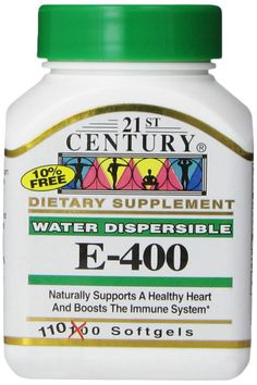 21st Century E 400 I.U. Water Dispersible Softgels, 110-Count *** Read more  at the image link.