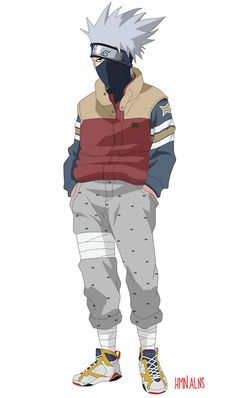 Kakashi - Air Jordan 7