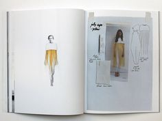 Fashion Sketchbook - fashion design development; fashion sketches; fashion portfolio // Sabela Tobar