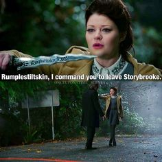 Rumbelle and outlaw queen were destroyed in this episode I feel bad for belle not rumplestilkstin he had it coming