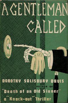 1958; A Gentleman called by Dorothy Salisbury Davis. Via UK vintage flickr