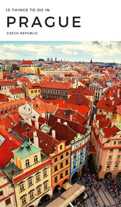 15 Amazing Things To Do In Prague. Sights worth visiting are St Procopius Basilica (built as part of the Benedictine monastery in the early thirteenth century), the Old-New Synagogue (which is Europe's oldest working synagogue) and the Old Jewish Cemetery (Europe's oldest surviving Jewish burial ground). #czechrepublic #travel #prague #europe Prague Things To Do, Prague Travel, Prague Czech Republic, Amazing Things, Cemetery, Stuff To Do, Places To Visit, Old Things, Survival