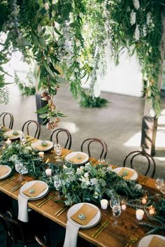 Wedding Greenery And#8211; Most Popular Ideas For 2017 ❤ See more: http://www.weddingforward.com/wedding-greenery/ #weddings