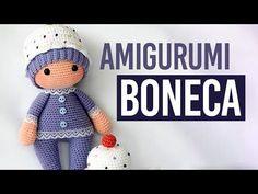 Receitas Amigurumi Bonecas Bebê - Boneca de Crochê Inspiração - YouTube Kids Patterns, Crochet Patterns Amigurumi, Amigurumi Doll, Doll Patterns, Baby Blanket Crochet, Crochet Baby, Crochet Unicorn, Crochet Books, Baby Crafts