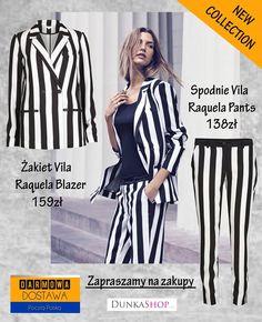 Nowości - http://www.dunkashop.com/Nowosc-snewproducts-pol.html Żakiet Vila Raquela Blazer - http://www.dunkashop.com/product-pol-7792-Zakiet-Vila-Raquela-Blazer.html Spodnie Vila Raquela Pants - http://www.dunkashop.com/product-pol-7934-Spodnie-Vila-Raquela-Pants.html
