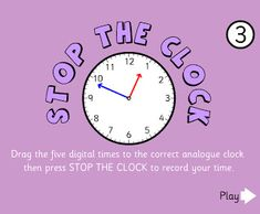 Learning to tell time seems to be really difficult for some kiddos. Thankfully there are lots of fabulous online resources to help t...
