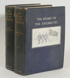 The Heart of the Antarctic – an account of his journey on the Nimrod by Ernest Shackleton.