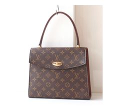 cab8695a60 Louis Vuitton Monogram Malesherbes Kelly handbag Authentic Vintage bag purse  by hfvin on Etsy  LouisVuitton