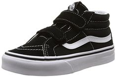 4ca1edc46576 Vans Sk8-Mid Reissue V, Sneakers Basses mixte enfant, Noir (Black True  White), 32 EU (UK child 1 Enfant UK). Chaussures Vans ...