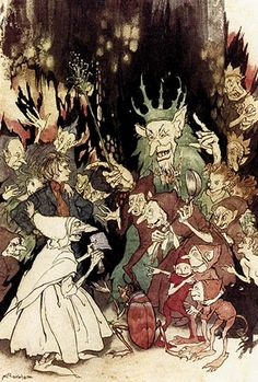 Peer Gynt by Henrick Ibsen, illustrated by Arthur Rackham