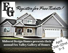 Event In The Fox Cities And Brown County, WI. Tour Homes And Receive A Plan  Book With Upcoming Homes For Sale Or Designs To Build With Midwest Design  Homes!