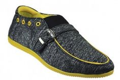 Dziner Gray Men Casual Shoes